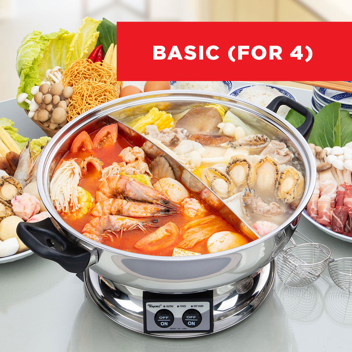 SUCCESS Steamboat Bundle (For 4 Pax)
