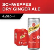 Ginger Ale 4s X 320ml