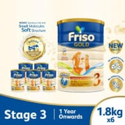 Gold 2FL Growing Up Stage 3 Carton 6s X 1.8kg