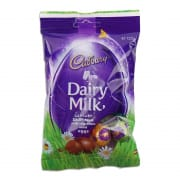 Dairy Milk Chocolate Solid Eggs Bag 125g