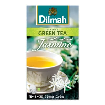 Tea Bags - Green Tea With Jasmine 50sX1.5g