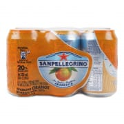 Aranciata Sparkling Orange Drink 6sX330ml