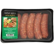 Italian Spicy Sausages 350g