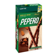 Pepero Stick Biscuit Almond & Chocolate 32g