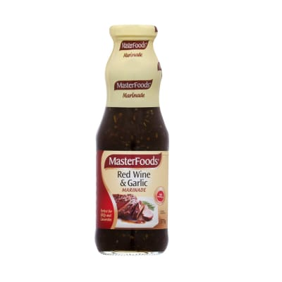 Seasoning Red Wine & Garlic Marinade 375g