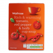 Red Pepper & Tomato Soup 4sX22g