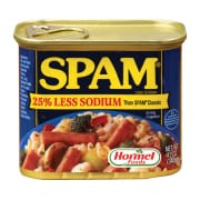 Spam Luncheon Meat 25% Less Sodium 340g