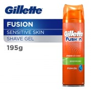 GILLETTE Fusion Hydra Gel Shave Prep (Sensitive Skin) 195g