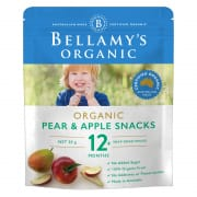 Organic Pear and Apple Snacks 20g