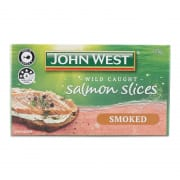 JOHN WEST Salmon Slices Smoked 125g