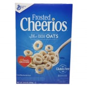 Cheerios Frosted Cereal Whole Grain Oats