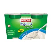 MARIGOLD Yoghurt Non Fat Natural (No Sugar Added) 2sX140g
