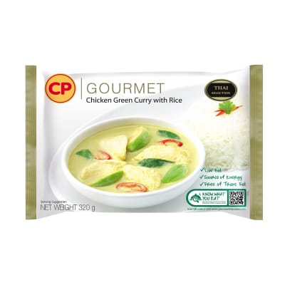 Green Chicken Curry W/ Rice 320g