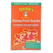 Summer Strawberry Organic Gummies Bunny Fruit Snacks 5sX23g