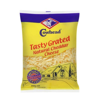 COWHEAD Cheddar Cheese - Tasty Grated 250g
