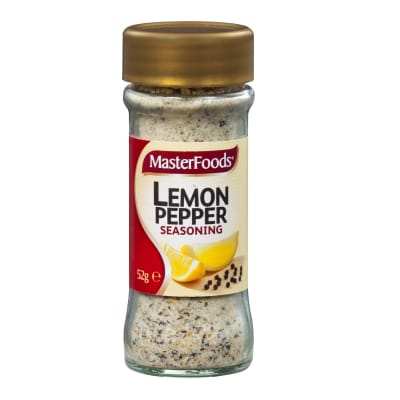 Seasoning Lemon Pepper 52g