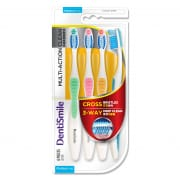 Toothbrush Multi Action Clean Medium 4s