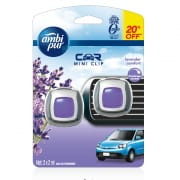 Car Mini Clip Air Freshener Lavender Comfort  2sX2ml