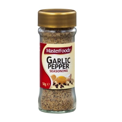 MASTERFOODS Seasoning - Garlic Pepper 50g