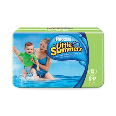 Little Swimmers Diapers #S 7-12kg 12s