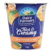 Yoghurt Thick & Creamy Yellowbox Honey 150g