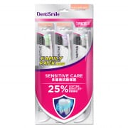 DENTISMILE. Toothbrush Extra Soft Sensitive Care 3s