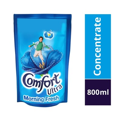 Concentrate Ultra Morning Fresh Fabric Softener Refill 800ml