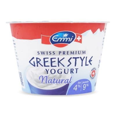 EMMI Greek Yogurt Natural 4% Fat 150g