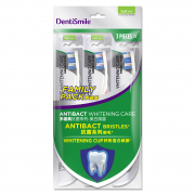Toothbrush Soft Anti Bacterial Whitening Care 3s
