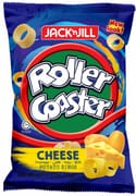 Roller Coaster Potato Rings - Cheese 70g
