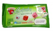 LAUGHING COW Belcube Green 24 Cubes 125g