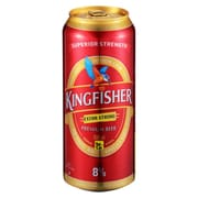 Kingfisher Premium Can Beer - Extra Strong