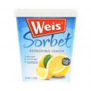 WEIS Sorbet - Refreshing Lemon 1L