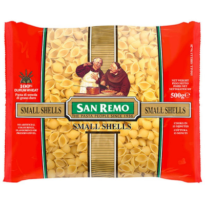 No.28 Small Shells 500g