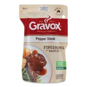 Liquid Gravy Pepper Steak 165g