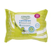 Spotless Skin Cleansing Wipes 25s