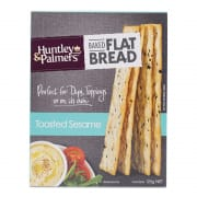 Flatbread Crackers - Toasted Sesame 125g
