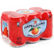 San Pellegrino Sparkling Fruit Beverage, Aranciata Rossa - Blood Orange