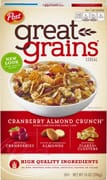Great Grains Cereal - Cranberry Almond Crunch 396g