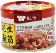 Fried Gluten W/ Peanut In Soy Sauce 170g