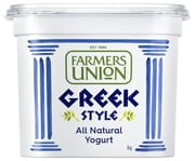 FARMERS UNION Greek Natural Yogurt 1kg