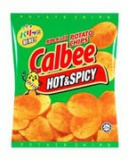 Hot & Spicy Potato Chips 80g