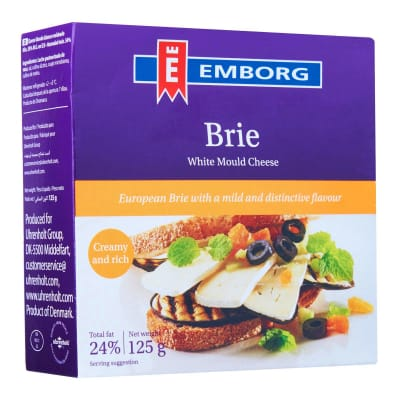 Danish Brie Cheese 125g