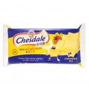 CHESDALE Cheddar Cheese Slice 24sX500g