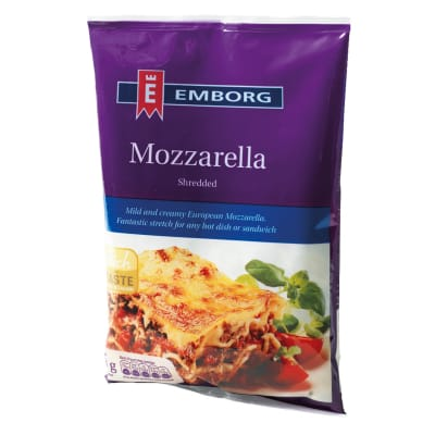 Shredded Mozzarella Cheese 200g