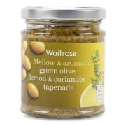 Green Olive Lemon & Coriander Tapenade 165g