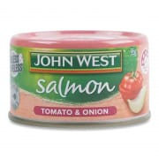 JOHN WEST Salmon Tempters Onion 95g