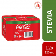 Coke Stevia 12sX320ml