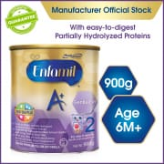 Enfamil A+ Gentlease Stage 2 with 360-degree DHA PLUS - Easy-to-Digest Formula (900g)