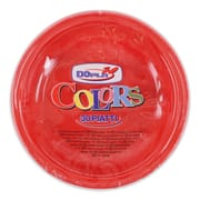 Colour Plastic Plate Red 30s
